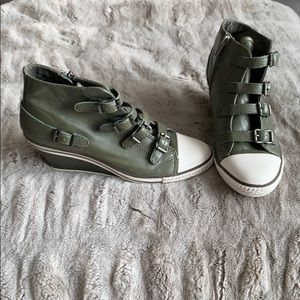 Ash Limited Leather Sneaker Wedge